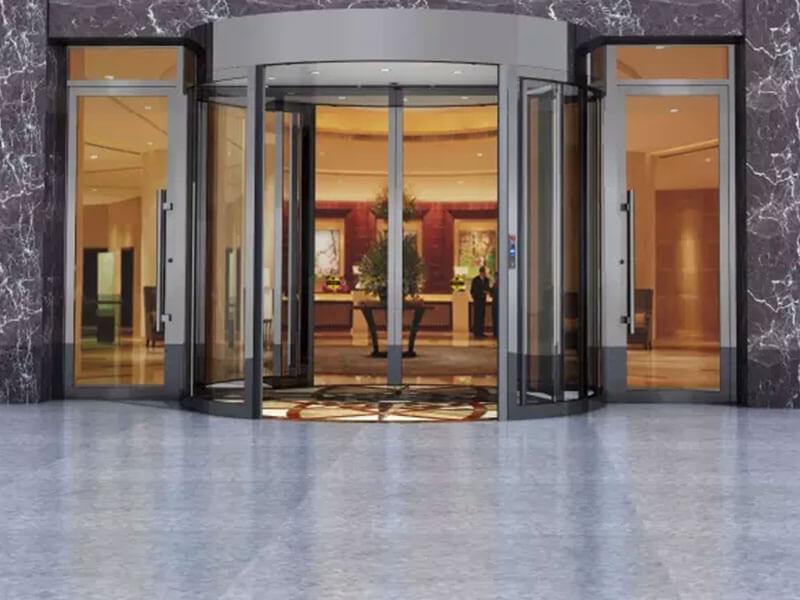 puertas correderas automáticas de cristal