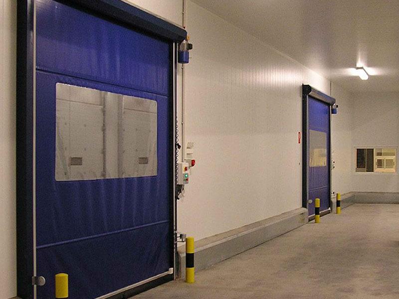 Puertas industriales interiores