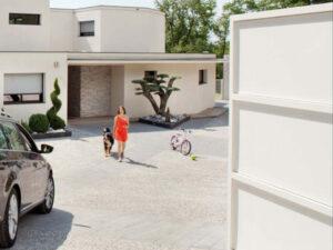 Puertas residenciales en casas