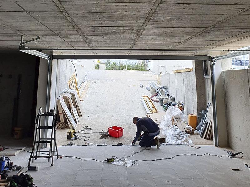 instalación de puerta de garaje de oferta en Valencia