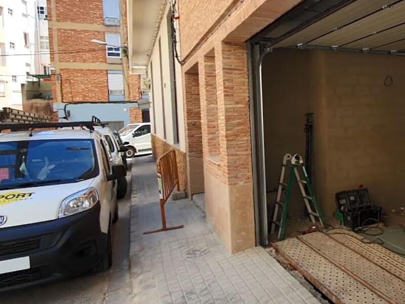 instalación puertas para garaje Valencia