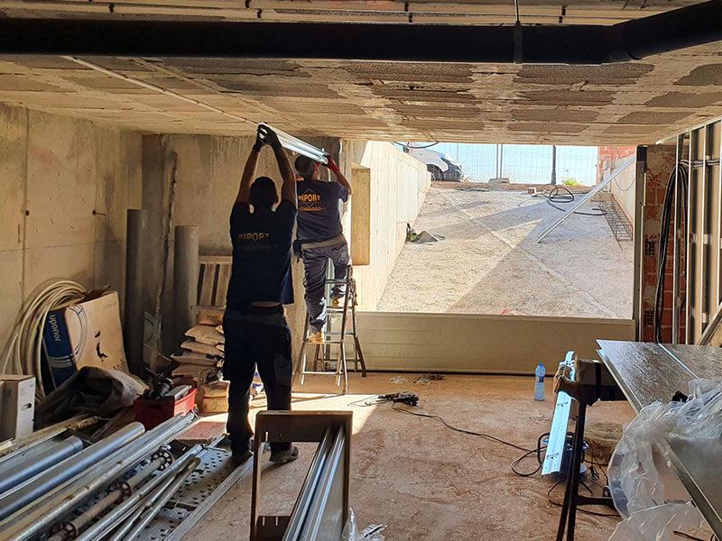 Instalación de puertas de garaje automáticas en Valencia