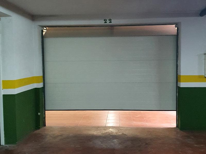 Motorización de puertas de garaje Valencia