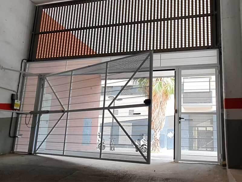 Puertas automáticas en Valencia