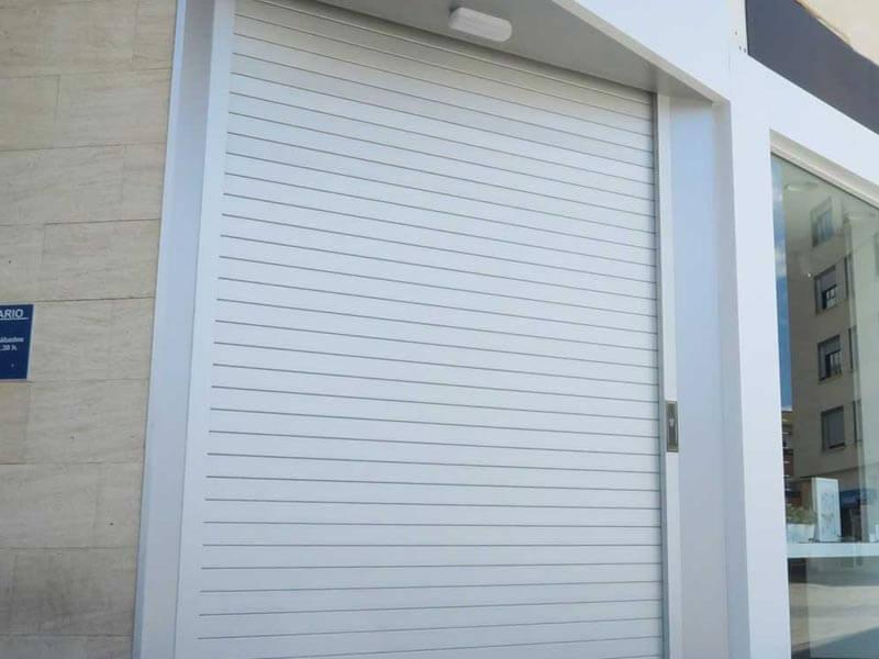 Puertas enrollables en Valencia