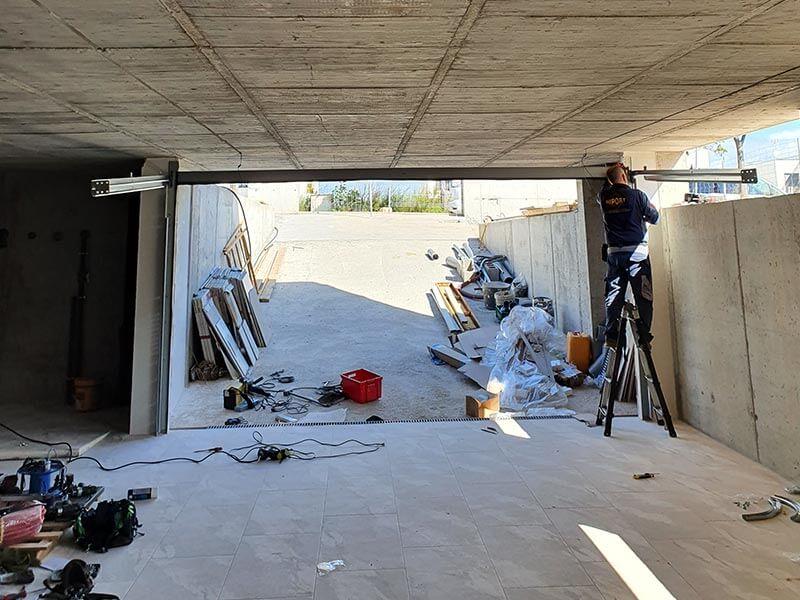 Puertas seccionales en Valencia